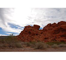 Earth, Sky... Valley of Fire Photographic Print