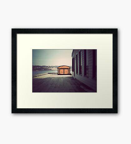 Lemon Interupt Framed Print