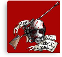 Fallout Ranger Tattoo Canvas Print