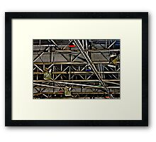 Industrial Chaos Framed Print
