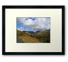 Eastern Fells Cumbria Framed Print