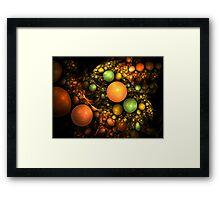 Still Life - Alien Fruit Bowl Framed Print