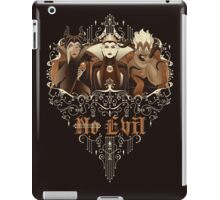 Three Wise Villains iPad Case/Skin
