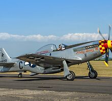 P-51D Mustang 44-74427/G4-C  F-AZSB by Colin Smedley