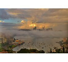 Play Misty For Me  - Moods Of A City - The HDR Experience Photographic Print