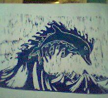lino dolphine by mitchellweih