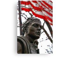 Vietnam Memorial Soldiers - Washington, DC Canvas Print