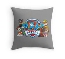 Send in the Pups! Throw Pillow