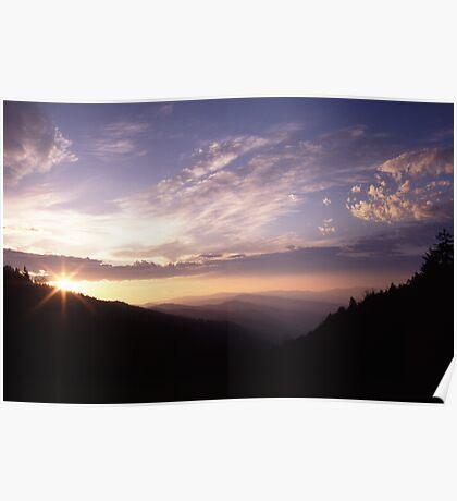 Smoky Mountain Daybreak Poster