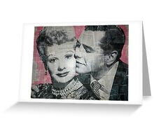 Lucy & Desi Greeting Card