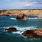 Algarve coastline by arvyart