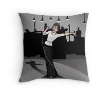 Live from Television City in Hollywood, Here's JUDY! Throw Pillow