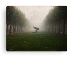 Lost in the fog... Canvas Print