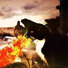 "Fire-Breathing Dragon Cat - ""Dominus Inferni"" by TaraFlyPhotos"