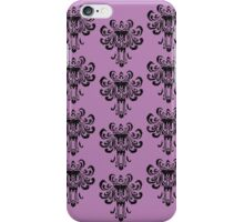 Haunted Mansion Wallpaper!  iPhone Case/Skin