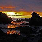 Sunset at Trinidad by Bryan D. Spellman