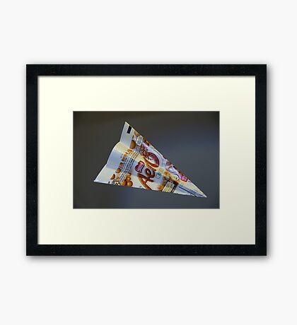 Aeroplane Framed Print