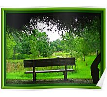 A Place To Contemplate Life Poster