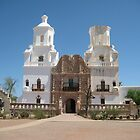 San Xavier del Bac Entrance by Michael Cohen