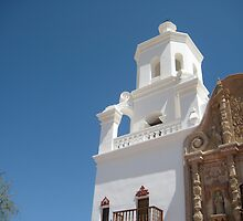 West Tower, San Xavier del Bac by Michael Cohen
