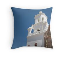 West Tower, San Xavier del Bac Throw Pillow