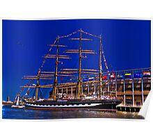 Sail Boston - Kruzenshtern  Poster