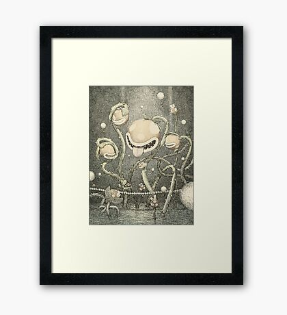 The Naval Piranha Plant Framed Print