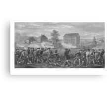 The Battle of Lexington Canvas Print