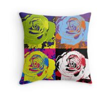 Everything's Coming Up Roses Throw Pillow