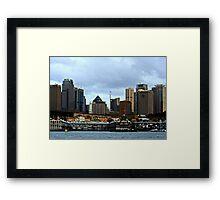 View Of Sydney #2 Framed Print