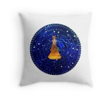 sailor moon golden moon princess Throw Pillow