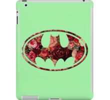 Floral Batman iPad Case/Skin
