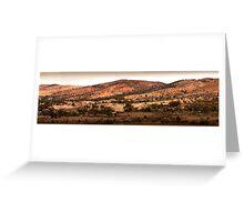 Flinders Ranges Panoramas-8 Greeting Card