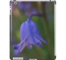 Bluebell macro iPad Case/Skin