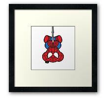 Spider-Bear Framed Print