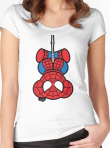 Spider-Bear Women's Fitted Scoop T-Shirt