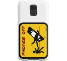 PHONES OFF Samsung Galaxy Case/Skin