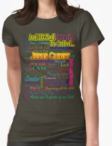 He Shall Be Called Womens Fitted T-Shirt
