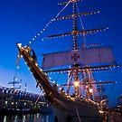 Sail Boston - Sagres, front view by LudaNayvelt