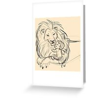 In His Presence Greeting Card