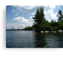 "Squam Lake, NH = ""On Golden Pond"" !!!  (movie location!) Canvas Print"