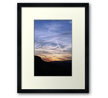 Mesa Sunset Framed Print