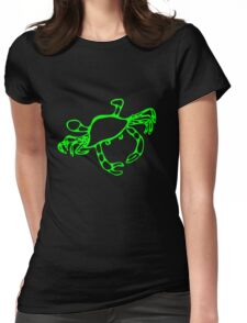 Green Crab Womens Fitted T-Shirt