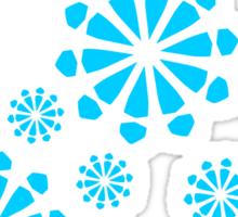 Snowflakes Sticker