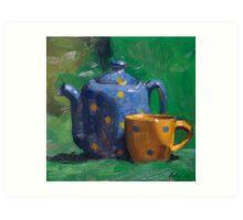 Sisa's Tea Set II Art Print