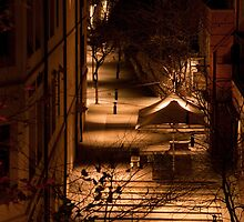 Golden Alley by kwill