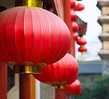 Chinese Lanterns  by Victor He