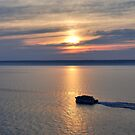 Lake Superior at Sundown  by JimGuy