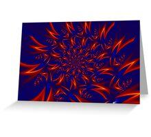 Neutrino Rush Greeting Card