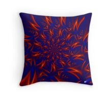 Neutrino Rush Throw Pillow